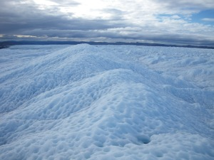 Millions of cryoconite holes occupy melting ice surfaces on the Greenland Ice sheet