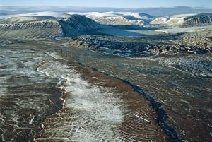 Arctic permafrost (ph. Lopez, 2007)