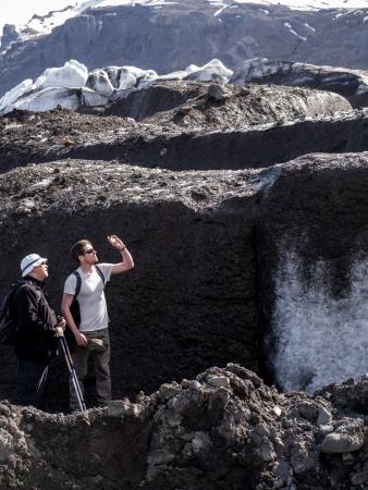 Glacier microbiology fieldwork (ph cr: David Elliott)