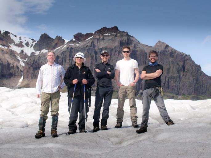 Kvíárjökull glacier research