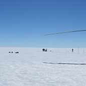 Field site at KAN-U, Greenland Ice Sheet (July 2016)