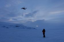 UAV testing in Svalbard